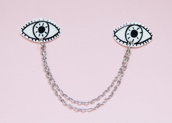 Eye Collar Clips