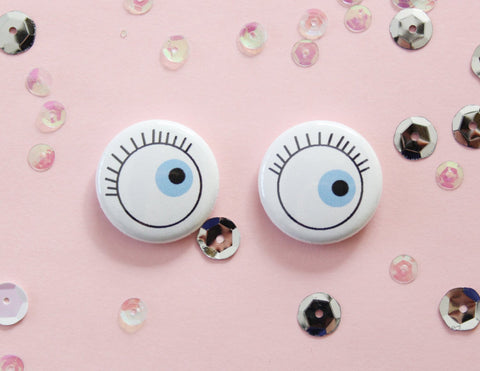 Eye See You Button Set of Two
