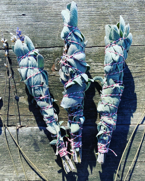 Bad Moon Botanicals Homegrown Sage and Lavender Bundles
