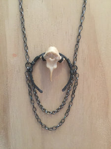 Serpent Moon Jewelry Vertebrae necklace