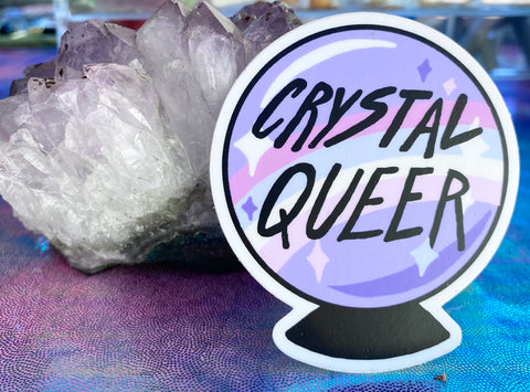 Crystal Queer Sticker by Hissy Fit