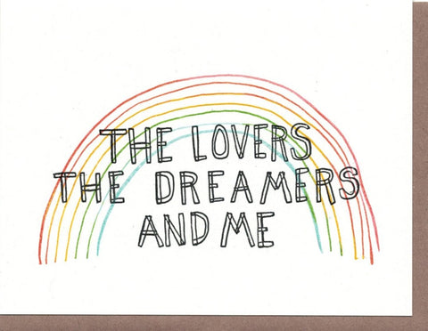 The Lovers the Dreamers Card