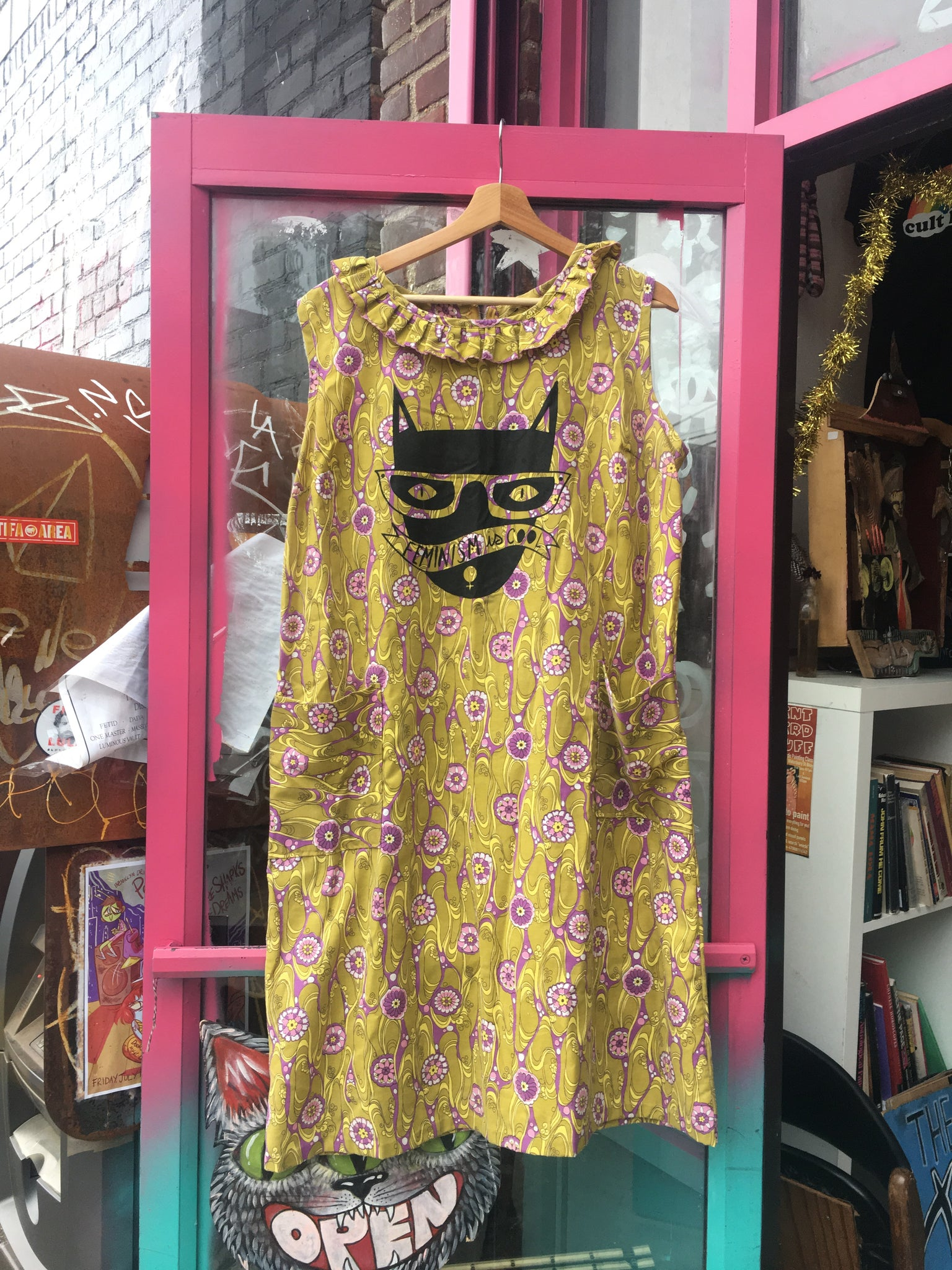 Feminism is Cool Upcycled MuMu