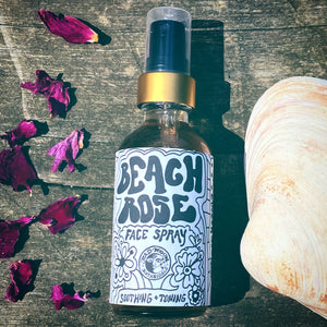 Bad Moon Botanicals Beach Rose and Elderflower Face Spray