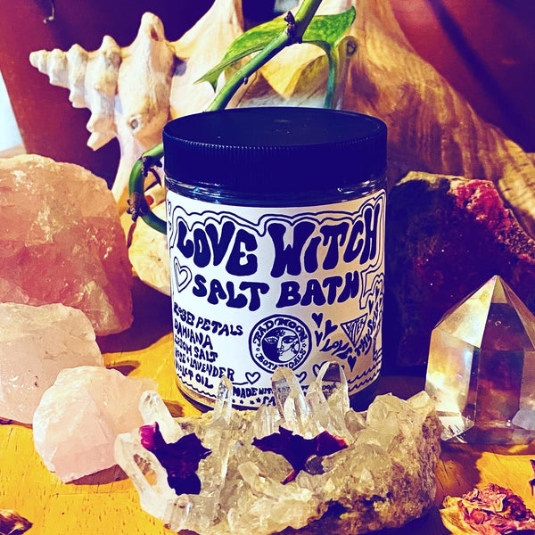 Love Witch Salt Bath