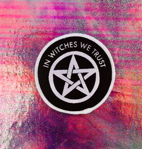 In Witches We Trust Iron-on Patch