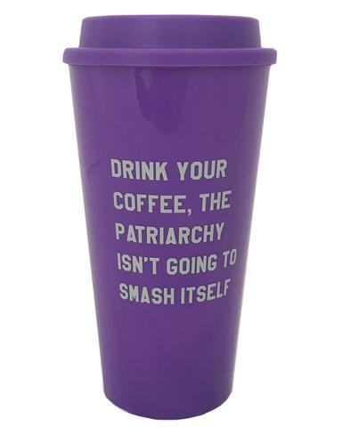 Drink Your Coffee Travel Mug