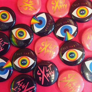 Cult Party Buttons