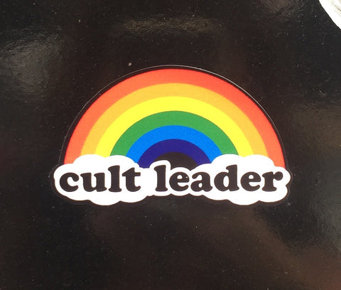Cult Leader sticker