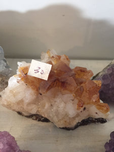 Citrine clusters
