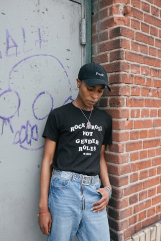 Rock n Roll Not Gender Roles Tee
