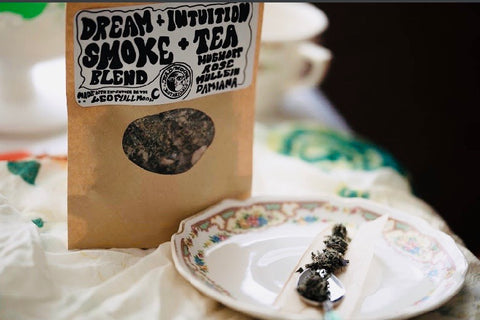 Dream and Intuition Tea and Smoking Blend