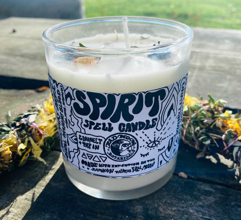 Bad Moon Botanicals Spirit Spell Candle