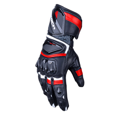 R-Tech Robo Men Nero Guanti da Corsa in Pelle