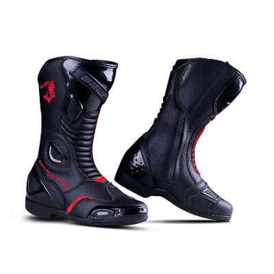 Bela Strip Lady Black Rosso Racing Boot