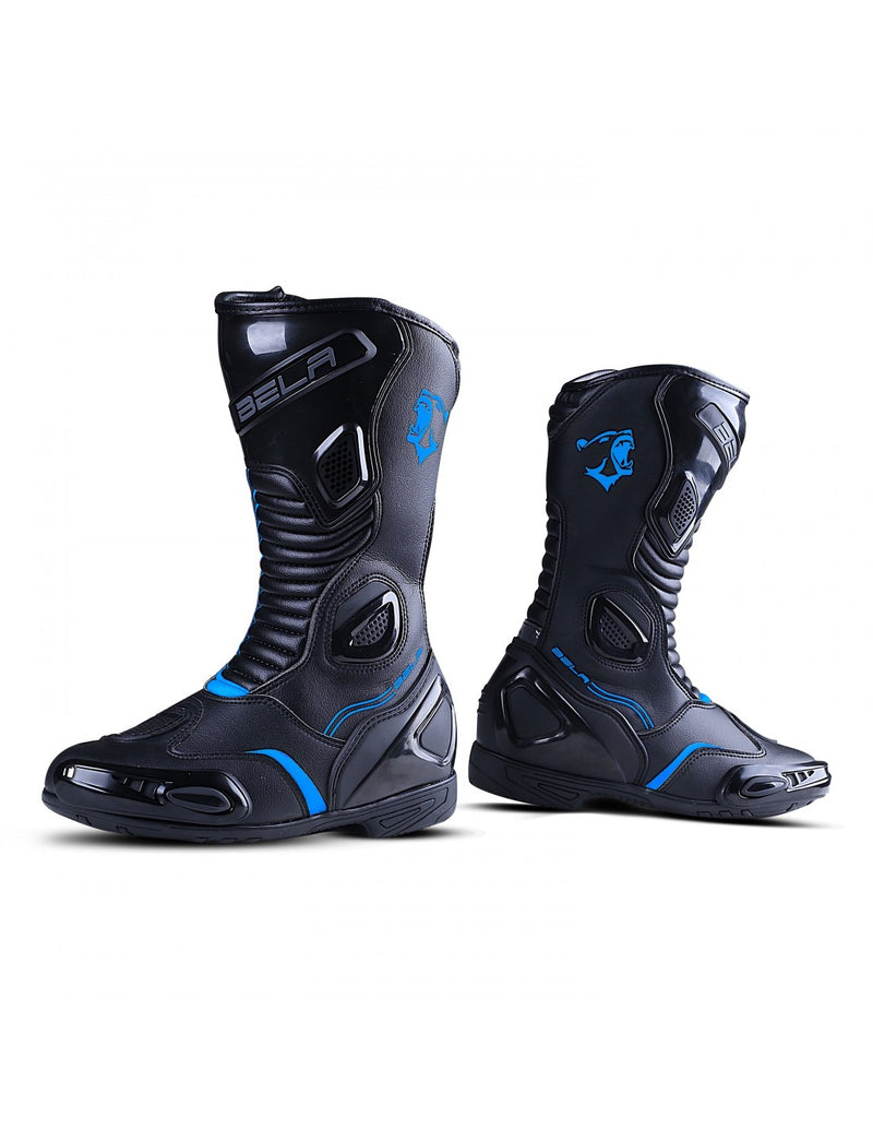 Bela Strip Lady Nero/BLU Racing Boot