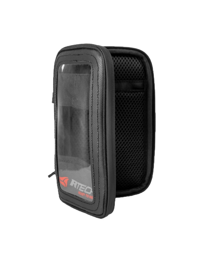 R-Tech Funda Movil Custodia magnetica per motociclisti - nera
