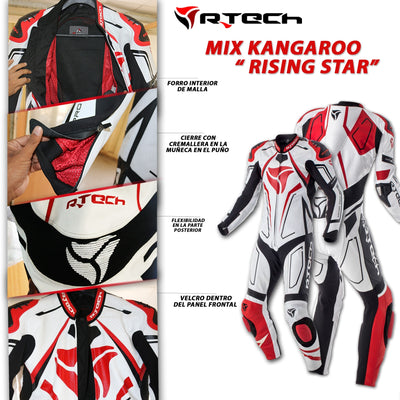 R-Tech Rising Star Tuta da Moto Racing