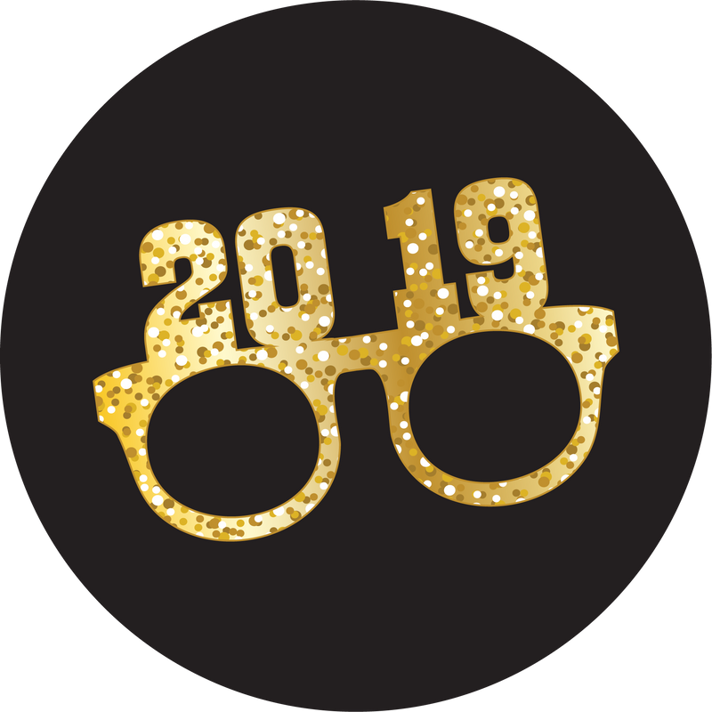 Original nuckees Phone Grip - 2019 NYE Glasses