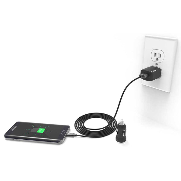 Auto/Home Charge Pak with Micro-USB Cable