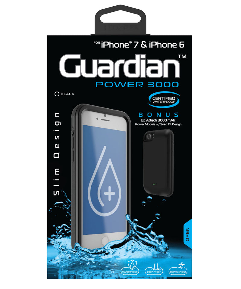 brand new 3671c aa0c9 Guardian Smartphone Case and Charger for iPhone 7 – Tzumi.com
