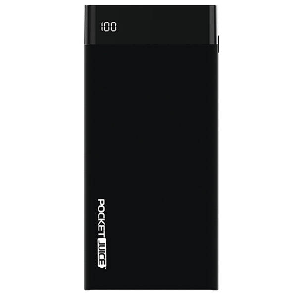 PocketJuice 20,000 mAh Portable Charger with LCD Display