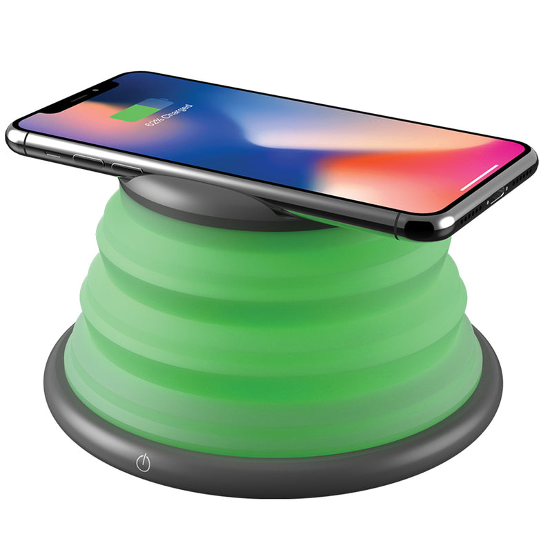 auraLED Color-Changing Wireless Charging Pad