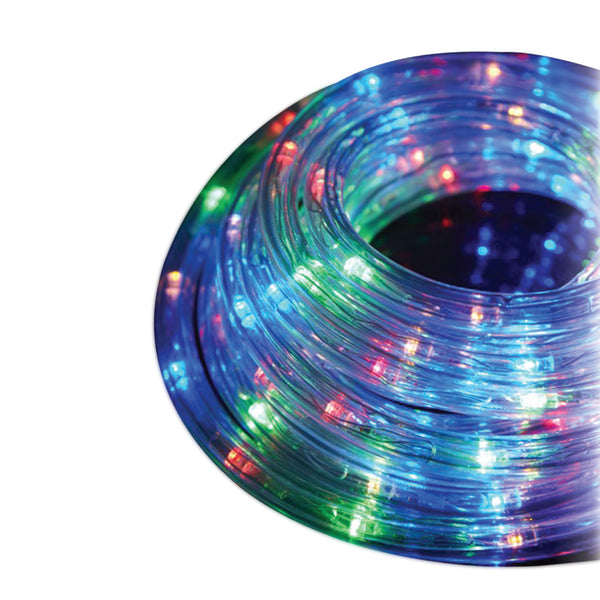 auraLED 18 Ft. Weatherproof Multicolor Rope Light