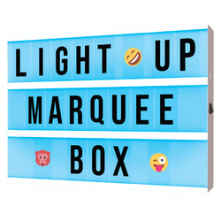 auraLED USB Powered Color-Changing Marquee Light Box