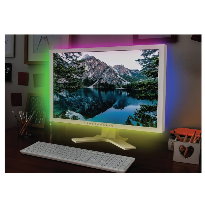 auraLED Remote Controlled LED Mood Light Strip with