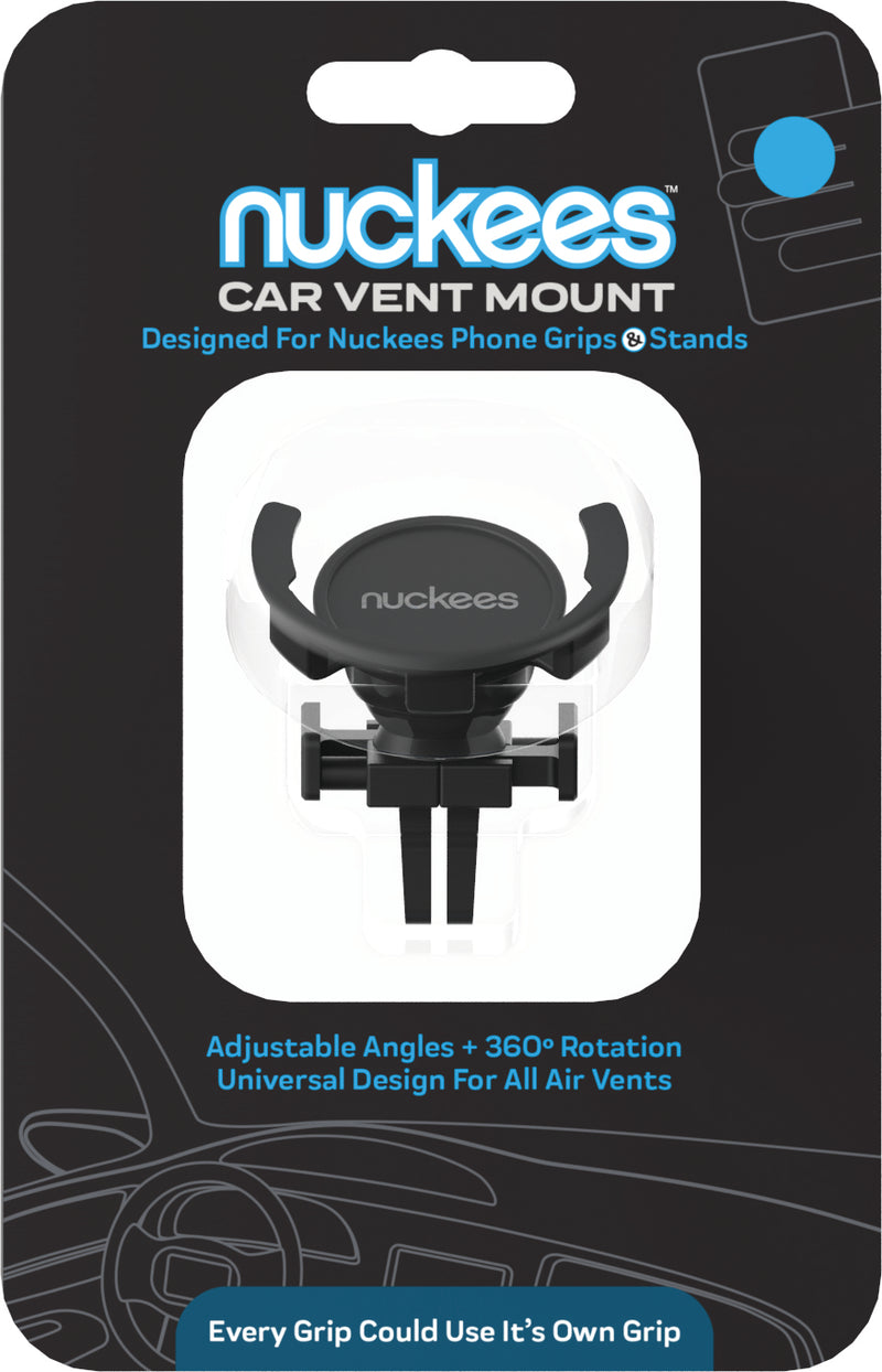nuckees Original Smartphone Grip Auto Air Vent Mount