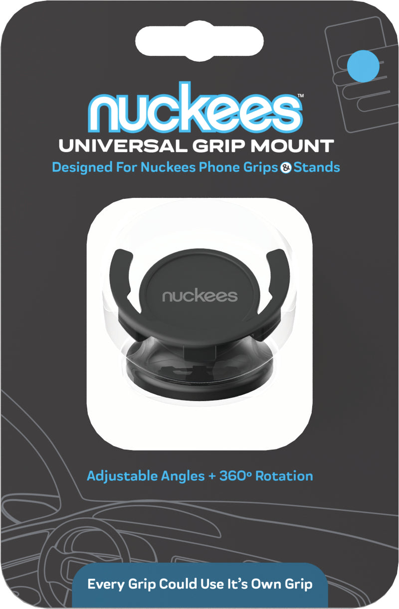 nuckees Original Smartphone Grip Multi-Surface Mount