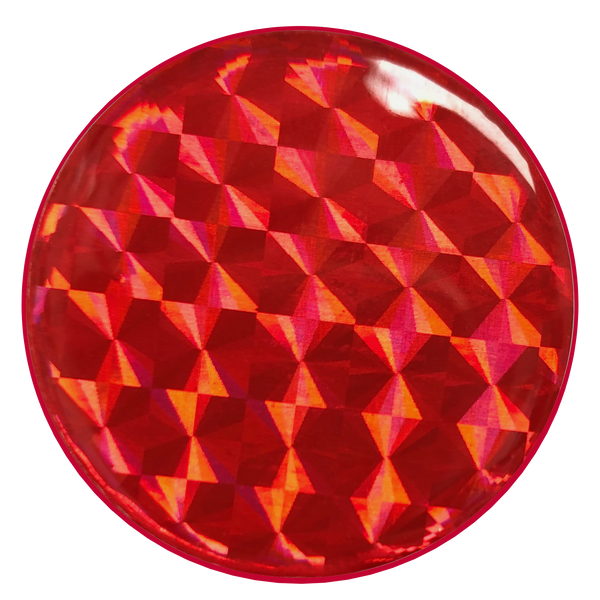 nuckees Gels Phone Grip - Cranberry Hologram