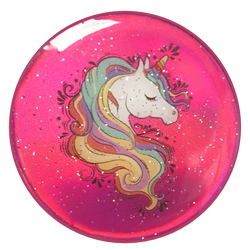 nuckees Gels Phone Grip - Pink Opal Unicorn