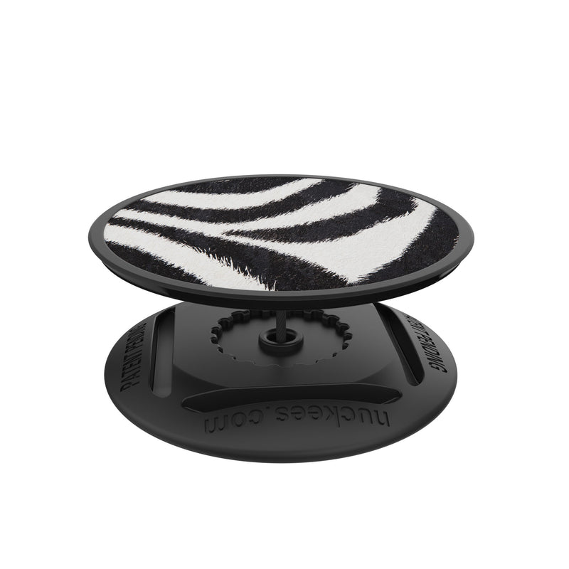 nuckees Wild Phone Grip - Zebra