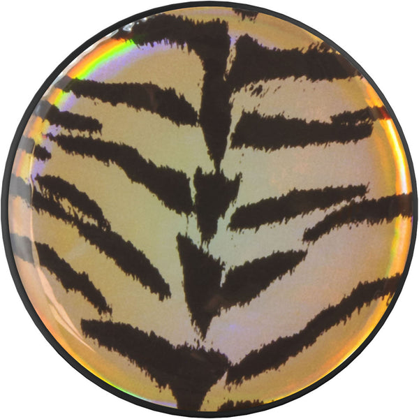 nuckees Wild Gel Phone Grip - Holographic Tiger