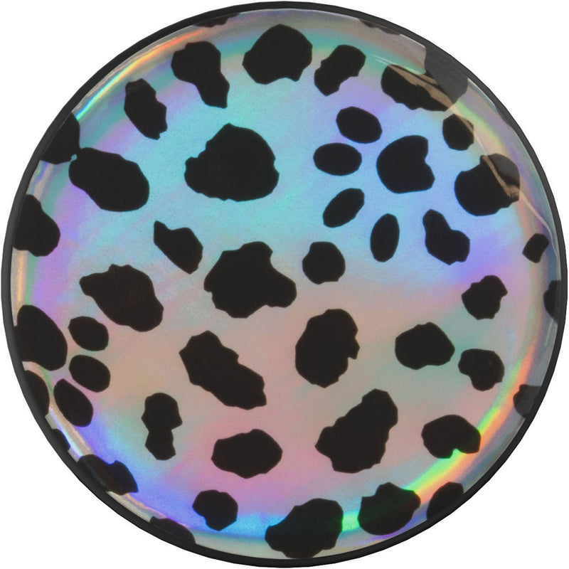 nuckees Wild Gel Phone Grip - Holographic Dalmatian
