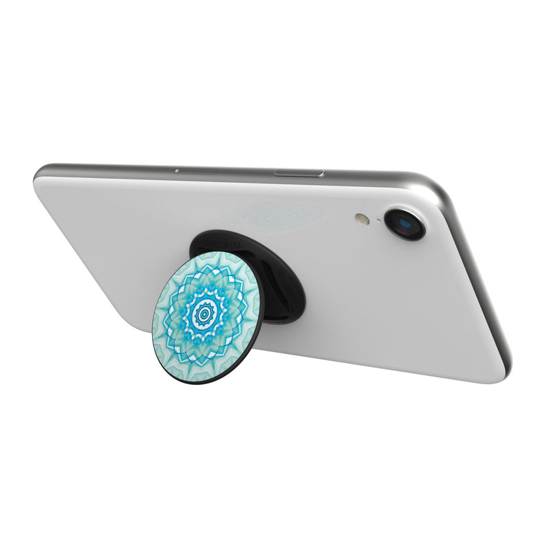 Original nuckees Phone Grip - Aqua Medallion