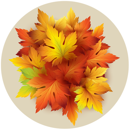 Original nuckees Phone Grip - Autumn Yellow Leaves