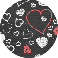 Original nuckees Phone Grip - Chalkboard Love