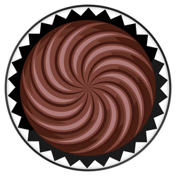 Original nuckees Phone Grip - Chocolate Truffle
