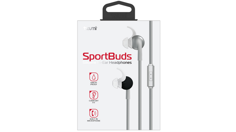 Fabric SportBuds Wired In-Ear Earbuds