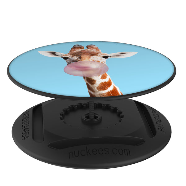Original nuckees Phone Grip - Giraffe Bubble Gum