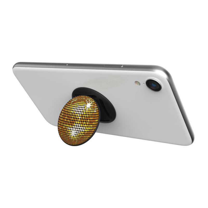Original nuckees Phone Grip - Gold NYE Ball