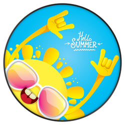 Original nuckees Phone Grip - Hello Summer
