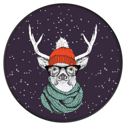 Original nuckees Phone Grip - Hipster Reindeer