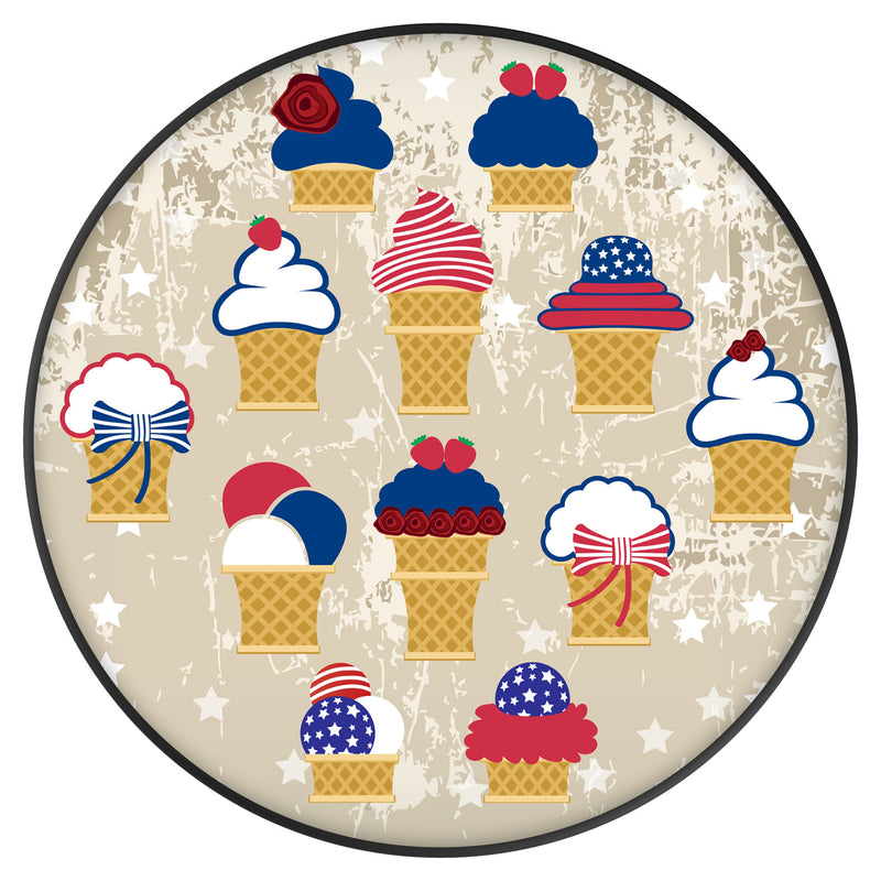 Original nuckees Phone Grip - Ice Cream USA
