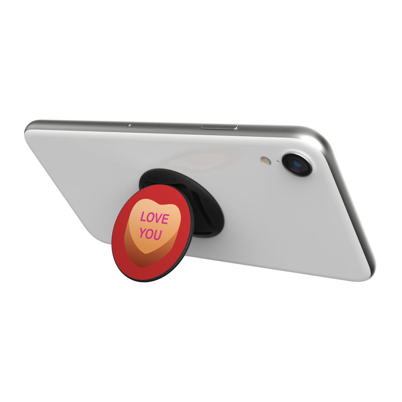 Original nuckees Phone Grip - LOVE YOU Heart Candy