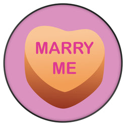 Original nuckees Phone Grip - MARRY ME Heart Candy