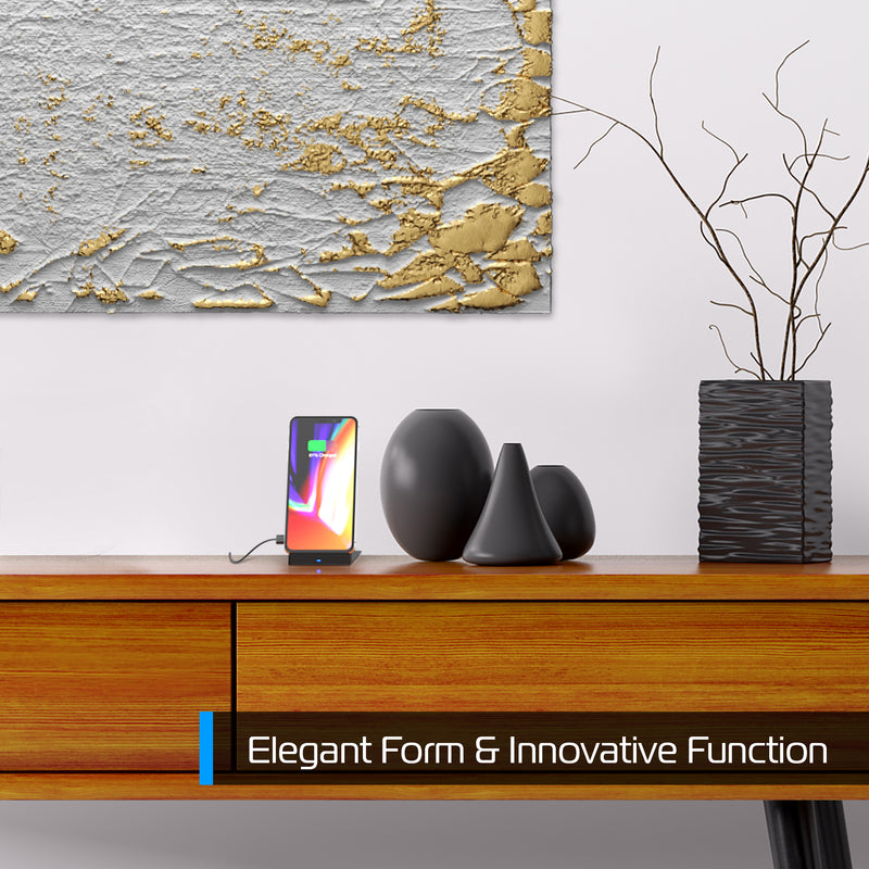 90° Multi-Angle Folding Desktop Wireless Charger